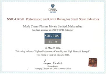 crisil rating certification